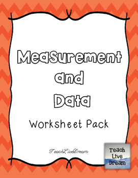 Math Common Core Worksheet PACK (4.MD)