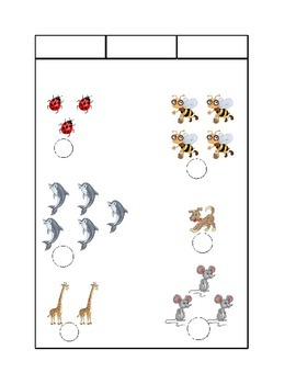 Math Count the Animals