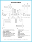 Math Crossword Puzzle Language Diagnostic