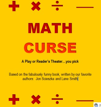 Math Curse - A Reader's Theater or Play