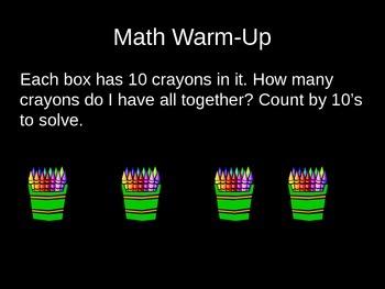Kindergarten Math Daily Warm-up