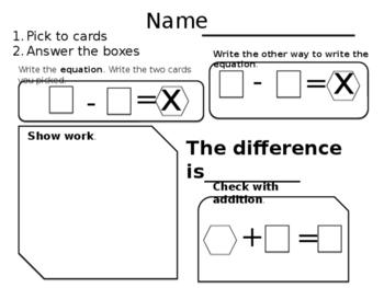 Math Deck Fluency
