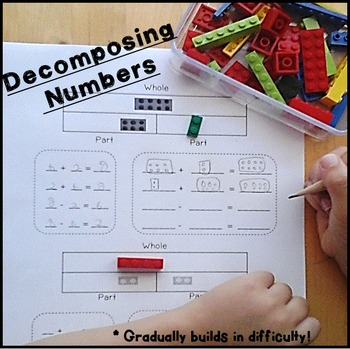 Decomposing Numbers 1st & 2nd Grade