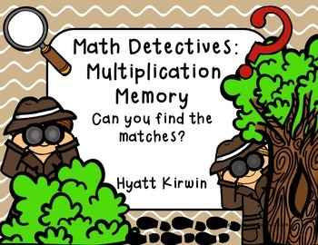 Math Detectives: Multiplication Memory