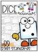 Dice Activity Books BUNDLE! {ALL 2nd Grade Math Standards}