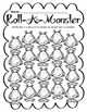 Math Dice Game - Monster Theme