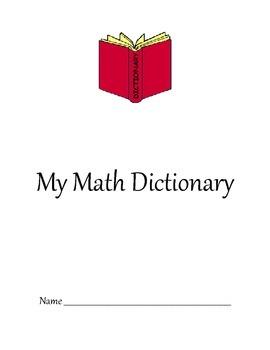 Math Dictionary- Envision Math Grade 5