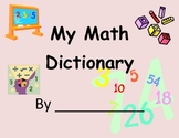 Math Dictionary using Frayer