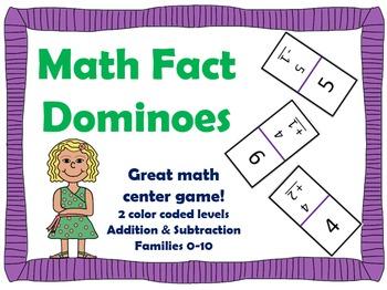 Math Domino Game!