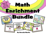 Math Enrichment Bundle