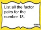 Math Exit Slips PowerPoint 4th Grade Common Core Operation