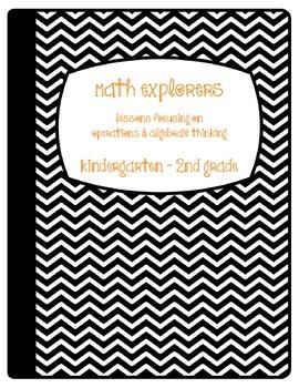 Math Explorers Notebook: Operations & Algebraic Thinking