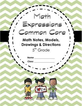 Math Expressions CC: Grade 5 Yearlong Student Math Notebook