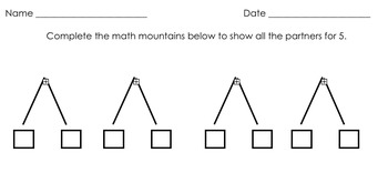 Math Expressions First Grade Unit 1