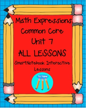 Math Expressions First Grade Unit 7