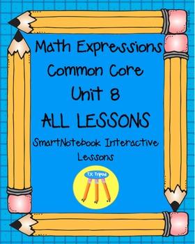Math Expressions First Grade Unit 8
