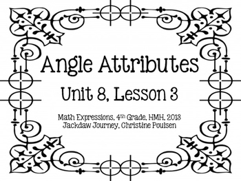 Math Expressions, Unit 8, Grade 4, Geometric Attributes Ca