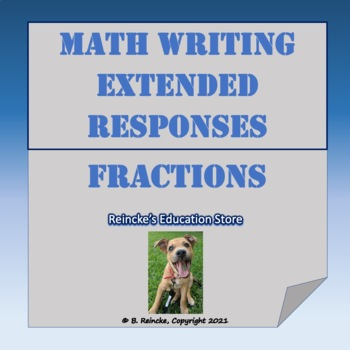 Math Extended Responses with Fractions