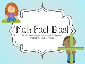 Math Fact Blast- Facts to 10