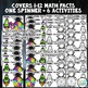Math Fact Fluency Practice Games - Multiplication & Divisi