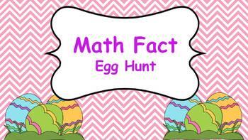 Math Fact Egg Hunt