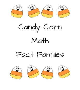 Math Fact Families + and -