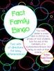 Math Fact Family Bingo