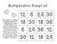 Math Fact Fluency: Multiplication Bump Games