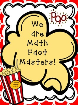 Math Fact Fluency Posters