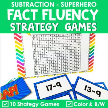 Math Fact Fluency {ZAP Subtraction Games}