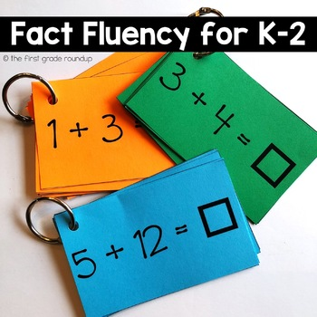 Fact Fluency for the K-2 Classroom {Addition and Subtraction}