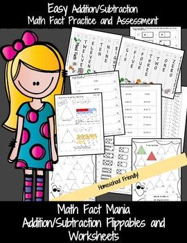 Kindergarten Math Bundle: Addition and Subtraction: BUNDLE