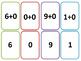 Math Fact NO PREP ADDITION BUNDLE (Go Fish and Matching Ca