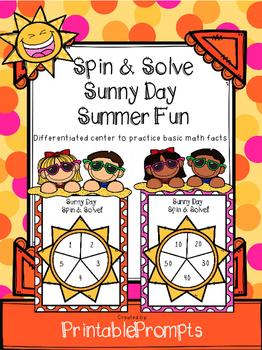 Summer Math Game (Facts)