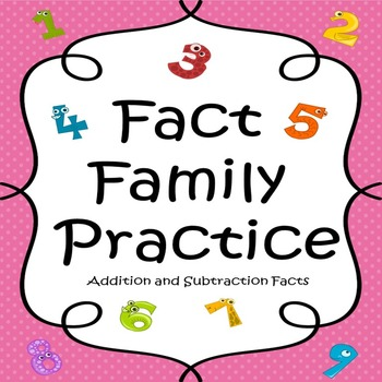 Addition/Subtraction Math Fact Practice with Story Problems