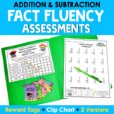 Math Facts Fluency Assessments {Addition & Subtraction} -