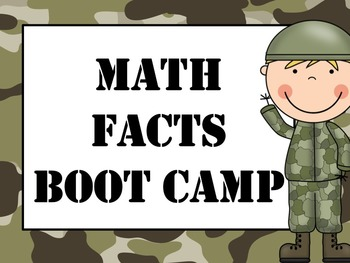 Math Facts Boot Camp Bundle