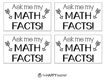 Math Facts Challenge: Helping students MASTER their math facts