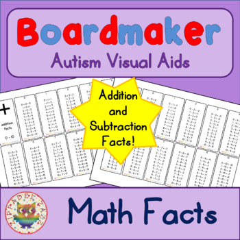 Math Facts Mini Cards (Addition and Subtraction)