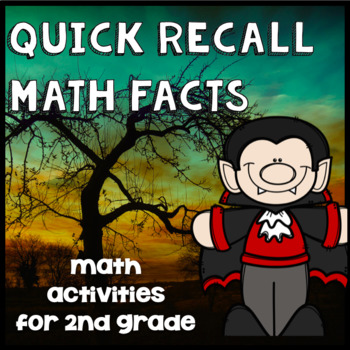 Halloween Math Facts Practice - Addition, Subtraction - 2nd Grade