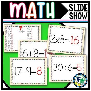 Math Facts Slide Show