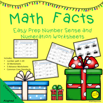 Math Facts with Numeration! Easy Prep