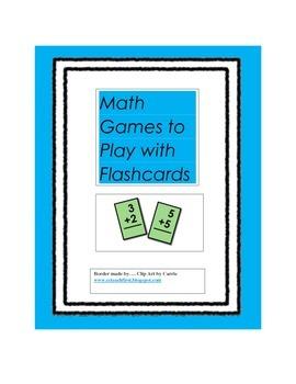 Math Flashcard Games