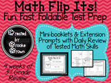Math Flip Its! {Fun, Fast, Foldable Test Prep}