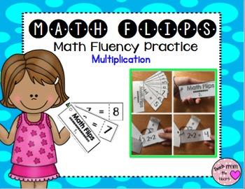 Math Flips Multiplication (Math Fluency Practice)