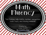 Math Fluency Cards