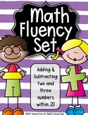 Math Fluency Unit - 2.OA.B.2 - {Common Core Aligned}