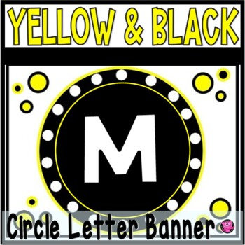 MATH POSTERS YELLOW and BLACK FOCUS WALL