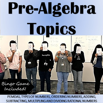 "Pre-Algebra ""Number Sense"" Topics: PEMDAS, Operations w/ I"