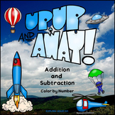 Math Fun / Up, Up and Away / Two Digit Addition & Subtract